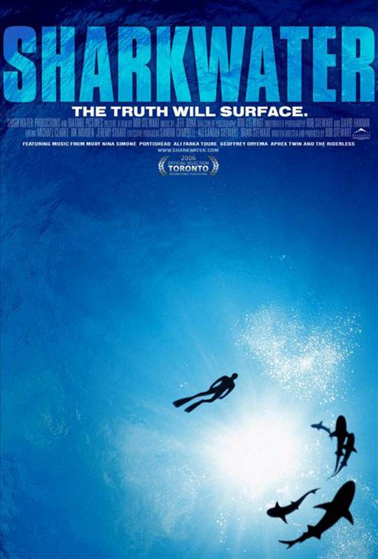 Sharkwater - A Tribute to Rob Stewart Large Poster