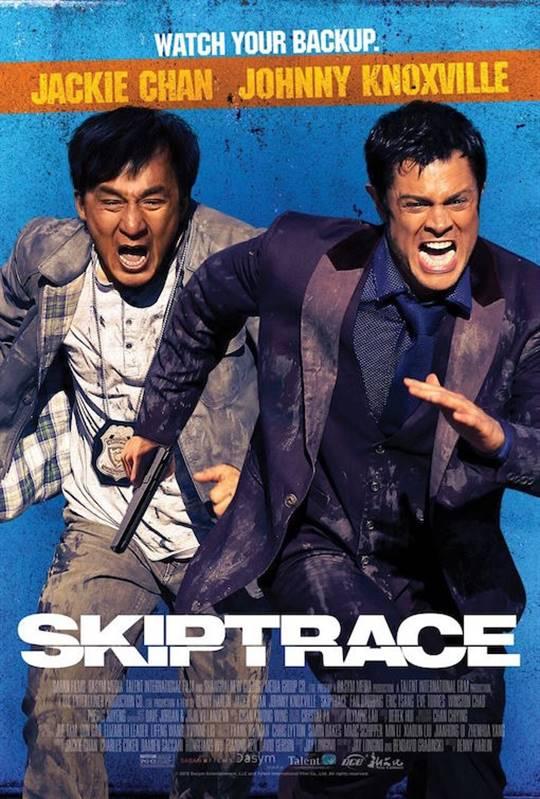 Skiptrace Large Poster