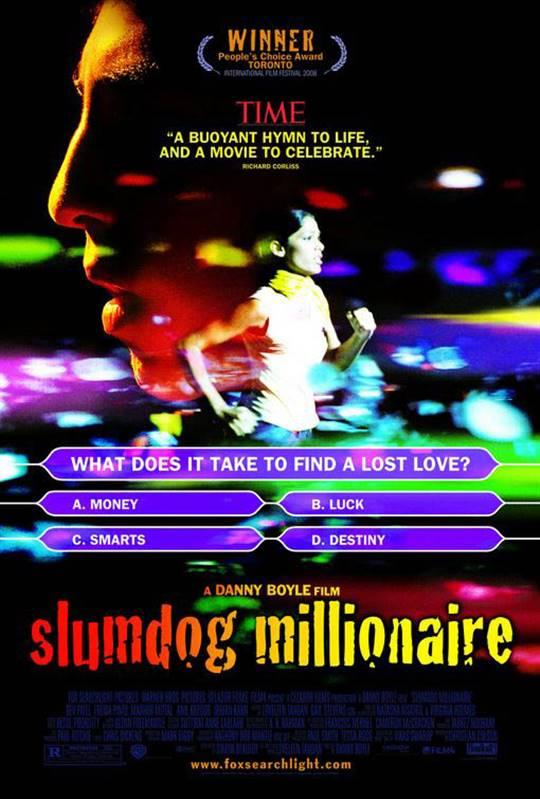Slumdog Millionaire Large Poster