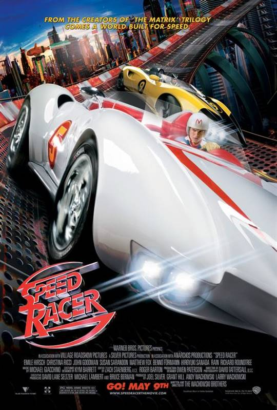 Speed Racer Large Poster