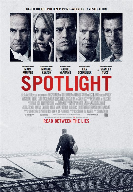 Spotlight Large Poster