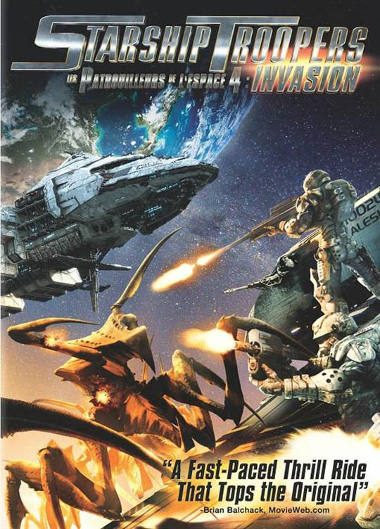 Starship Troopers: Invasion Large Poster