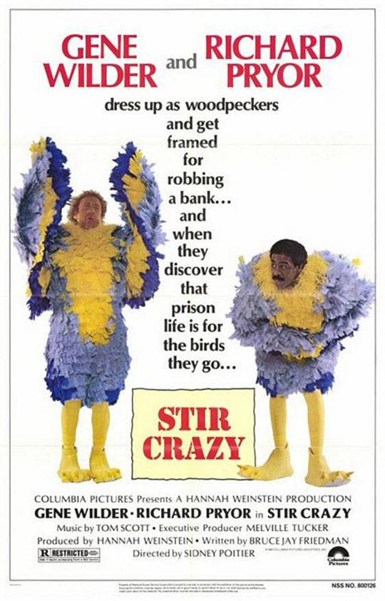Stir Crazy Large Poster