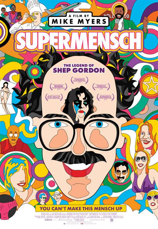 Supermensch: The Legend of Shep Gordon Large Poster