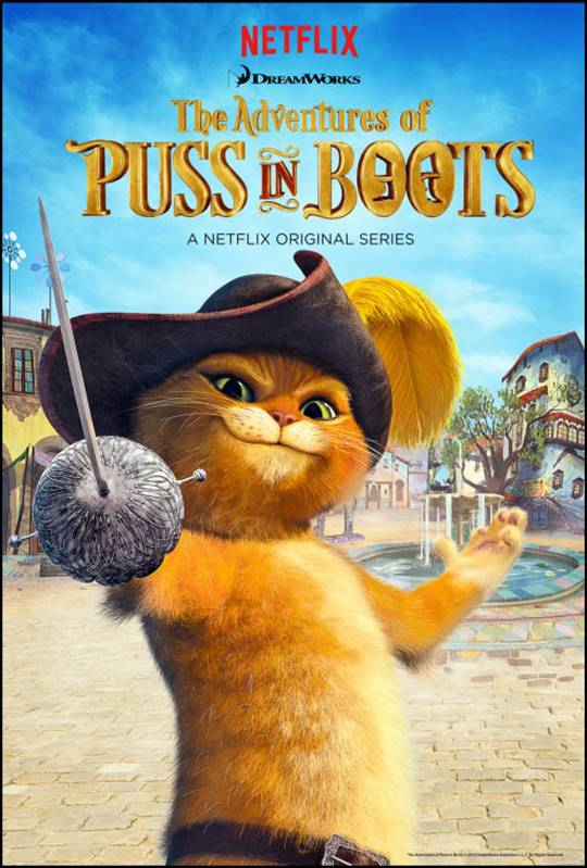 The Adventures of Puss in Boots Large Poster