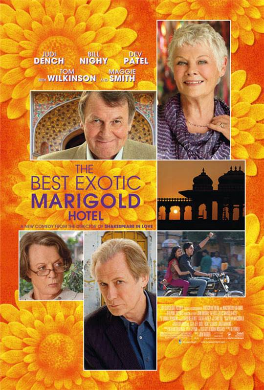 The Best Exotic Marigold Hotel Large Poster