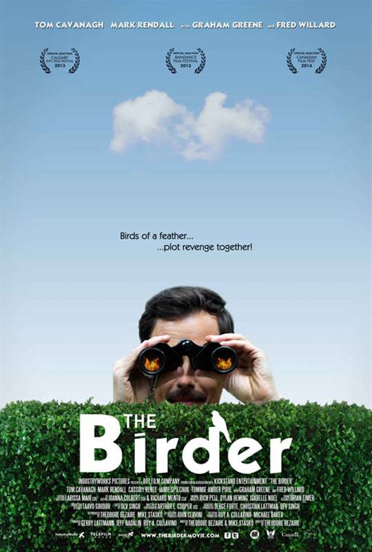 The Birder Large Poster