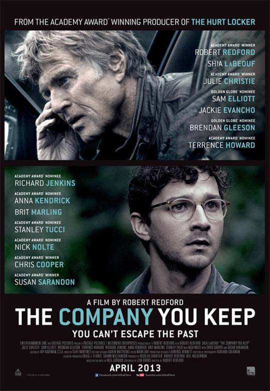 The Company You Keep Large Poster
