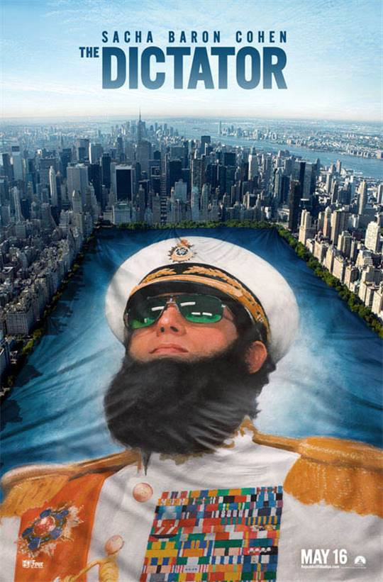 The Dictator Large Poster