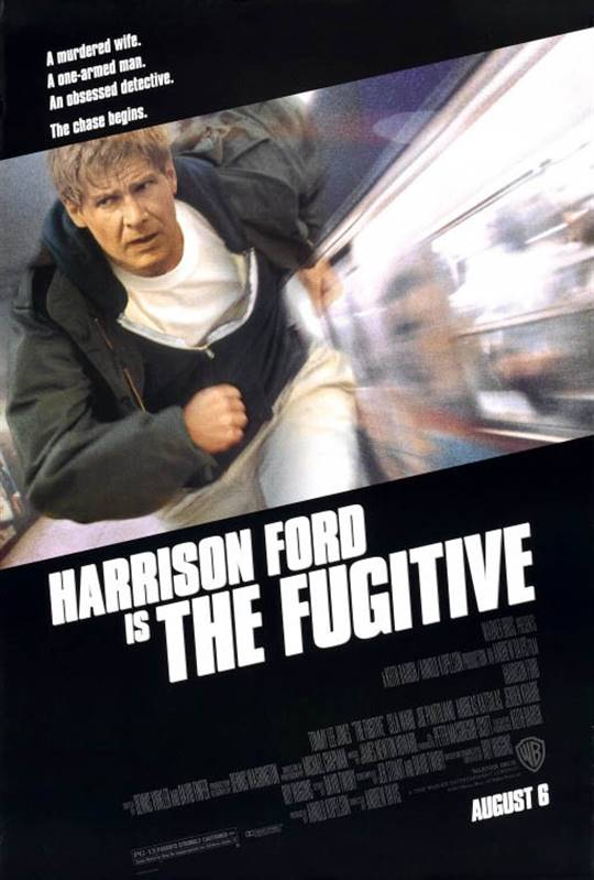 The Fugitive Large Poster