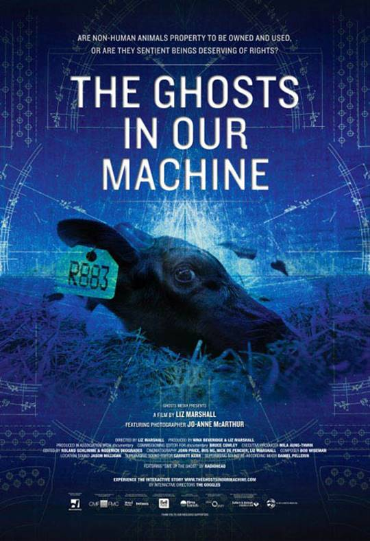 The Ghosts in Our Machine Large Poster