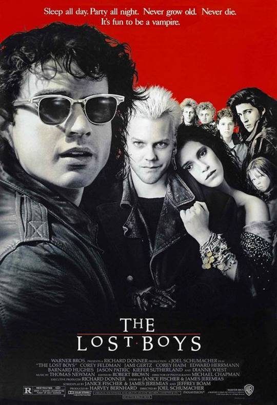 The Lost Boys Large Poster
