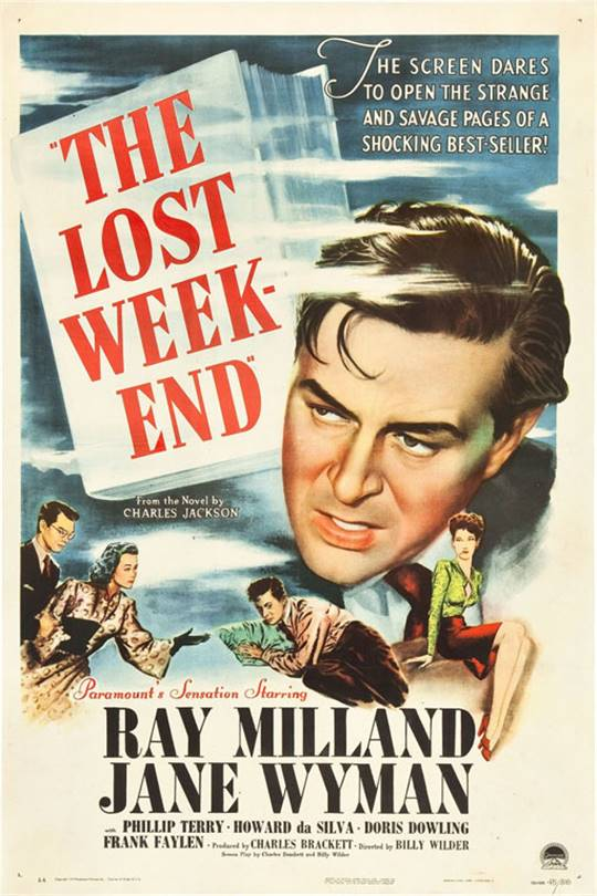 The Lost Weekend Large Poster