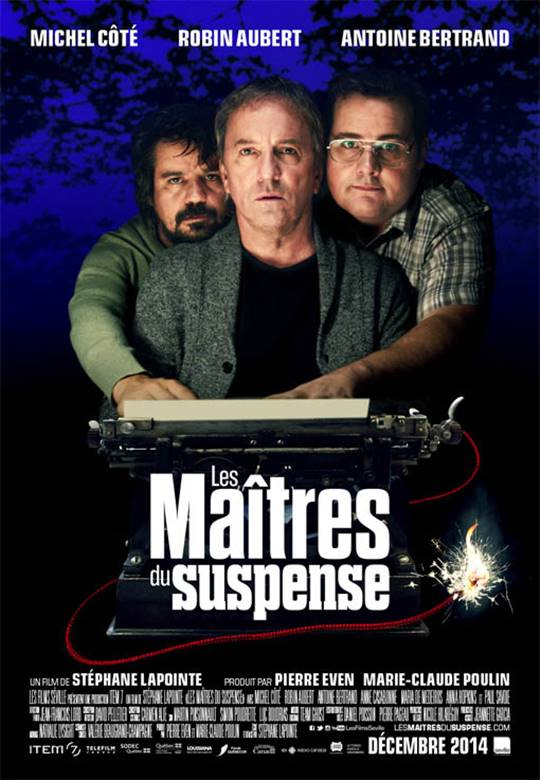 The Masters of Suspense Large Poster