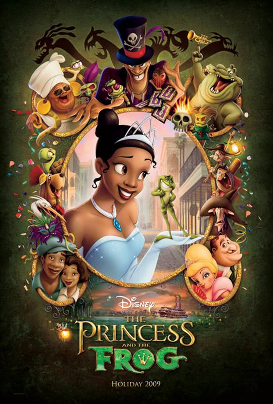 The Princess and the Frog Large Poster