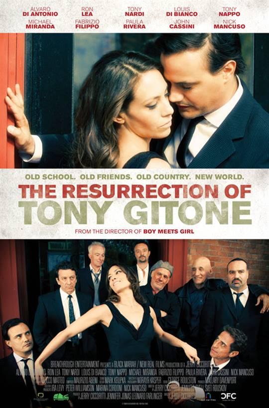 The Resurrection of Tony Gitone Large Poster