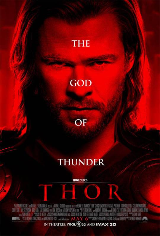 Thor Large Poster