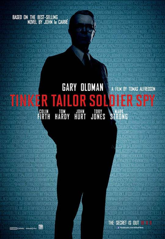Tinker Tailor Soldier Spy Large Poster