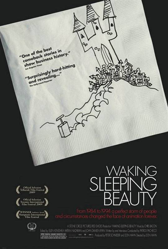 Waking Sleeping Beauty Large Poster