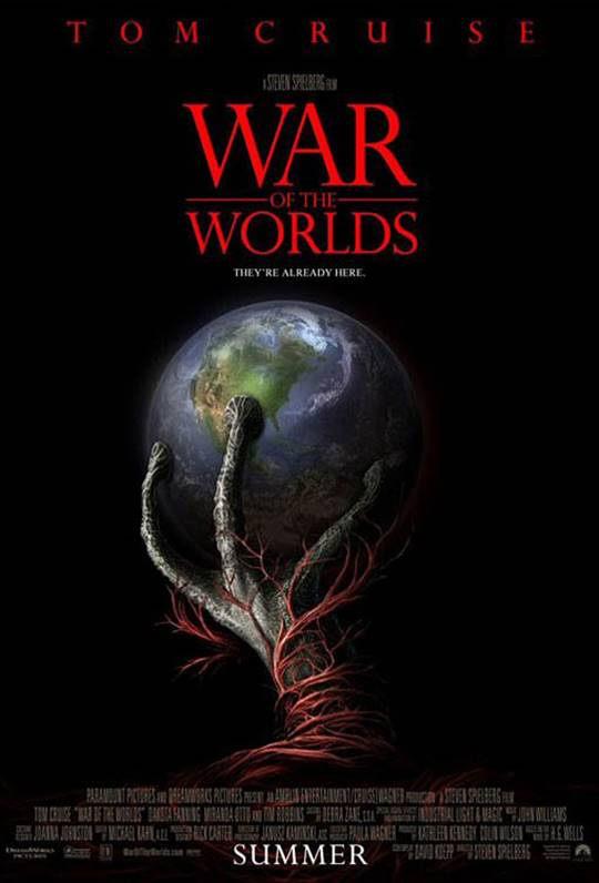 War of the Worlds Large Poster
