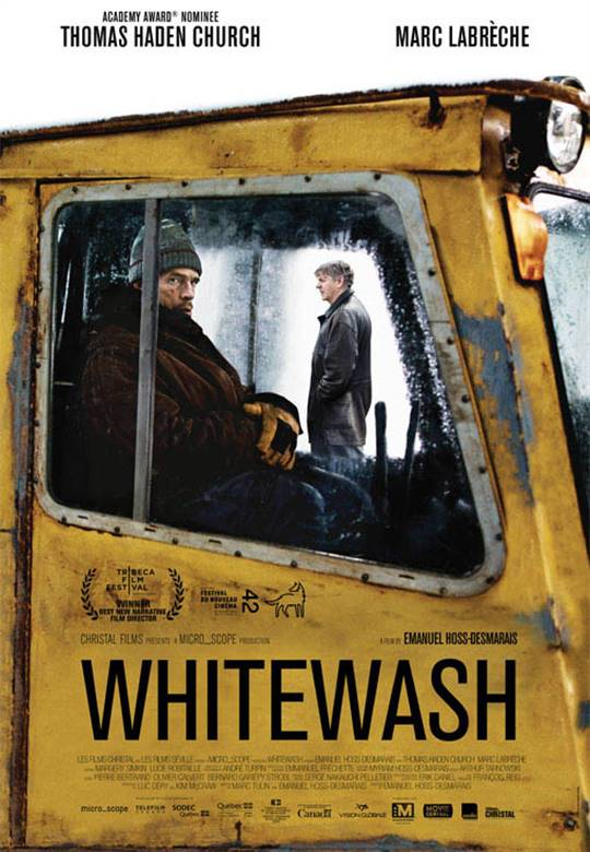 Whitewash Large Poster