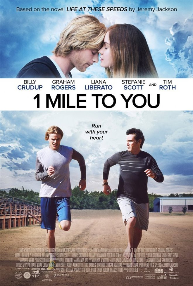 1 Mile to You Large Poster