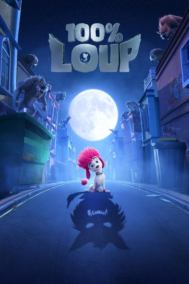100% Loup Large Poster