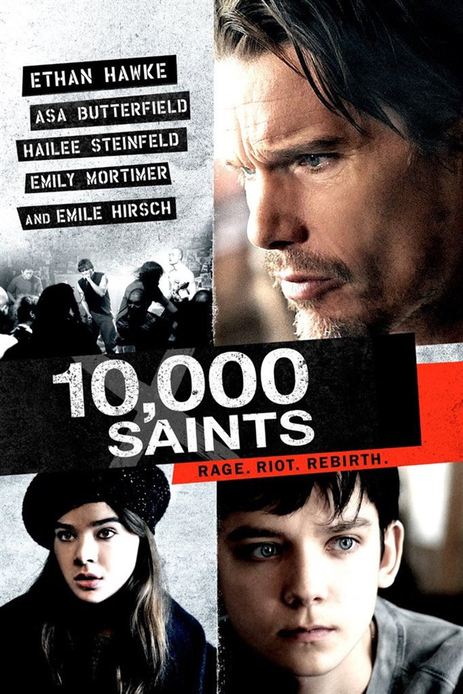 10,000 Saints Large Poster