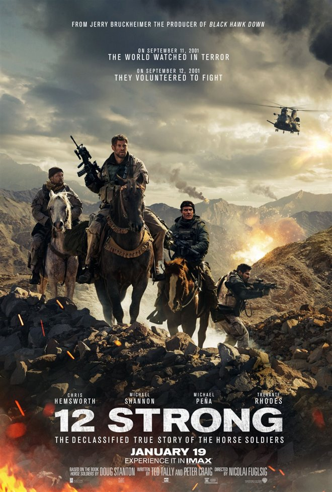 12 Strong Large Poster