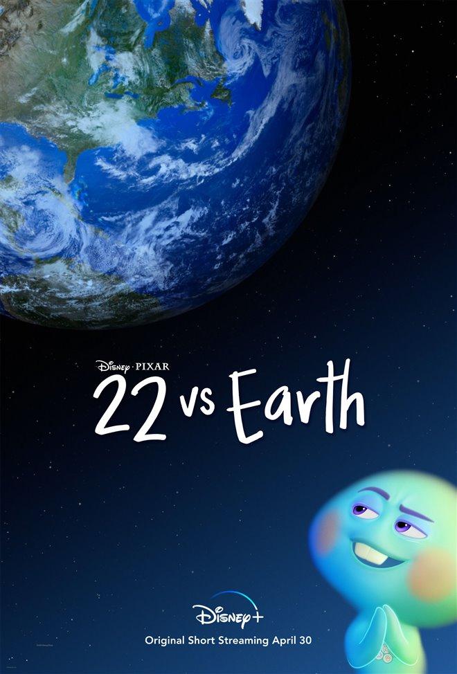 22 vs. Earth (Disney+) Large Poster