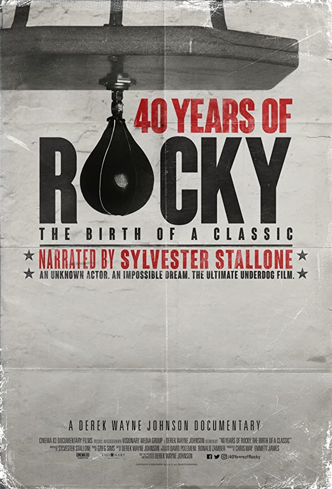 40 Years of Rocky: The Birth of a Classic Large Poster