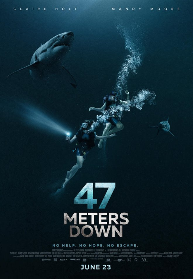47 Meters Down Large Poster