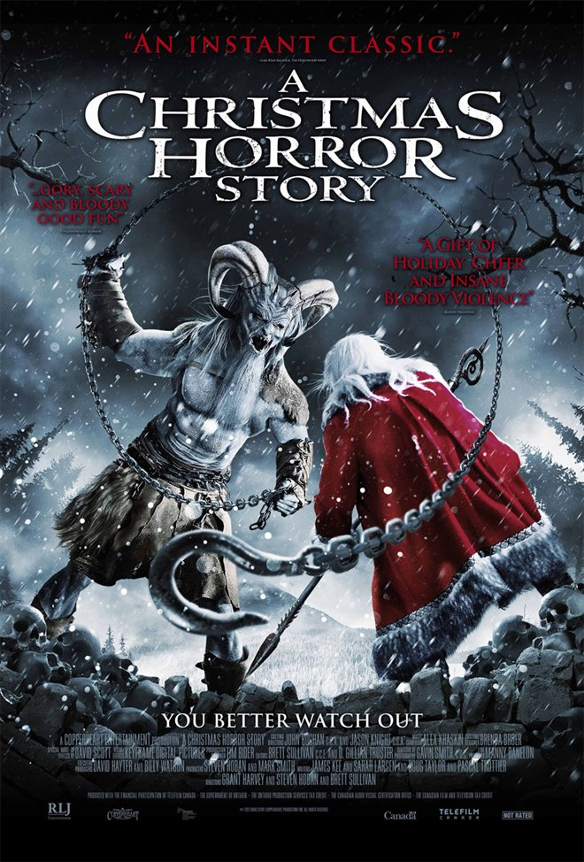 A Christmas Horror Story Large Poster