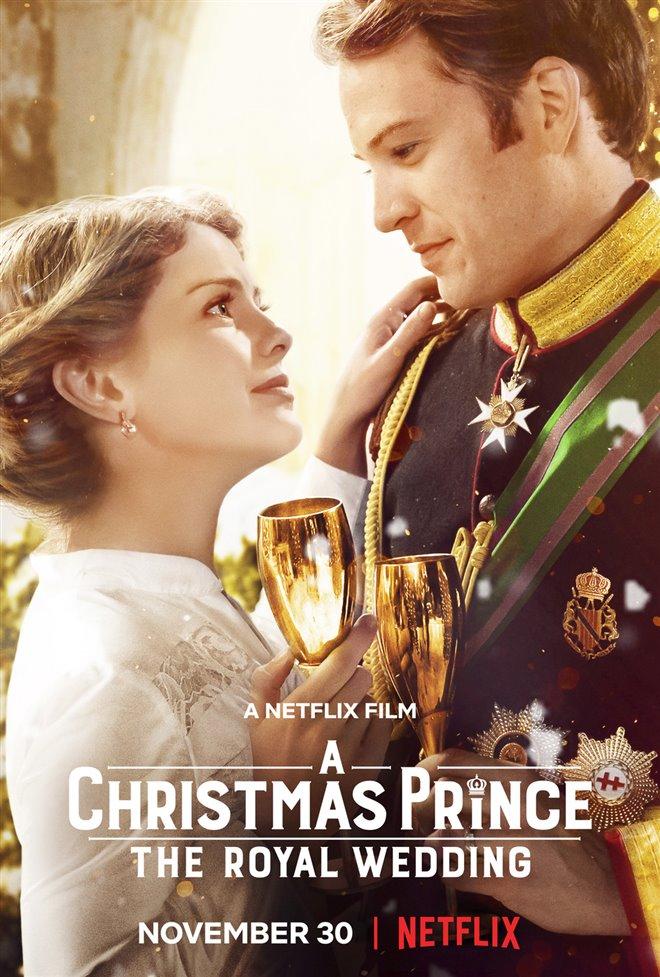 A Christmas Prince: The Royal Wedding (Netflix) Large Poster