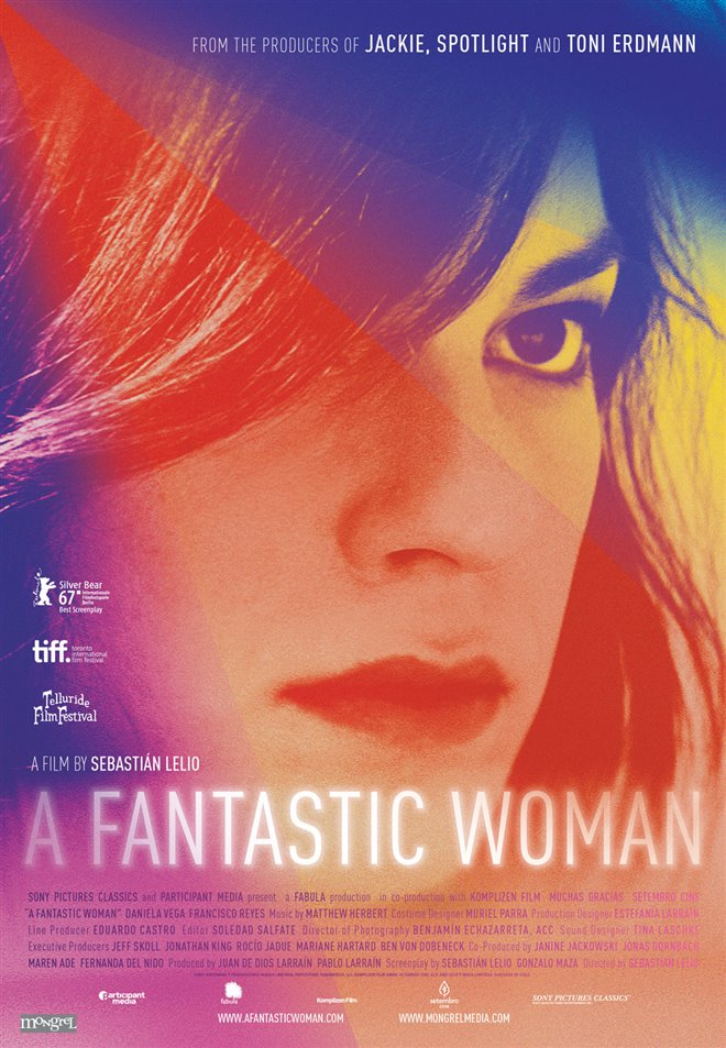 A Fantastic Woman Large Poster