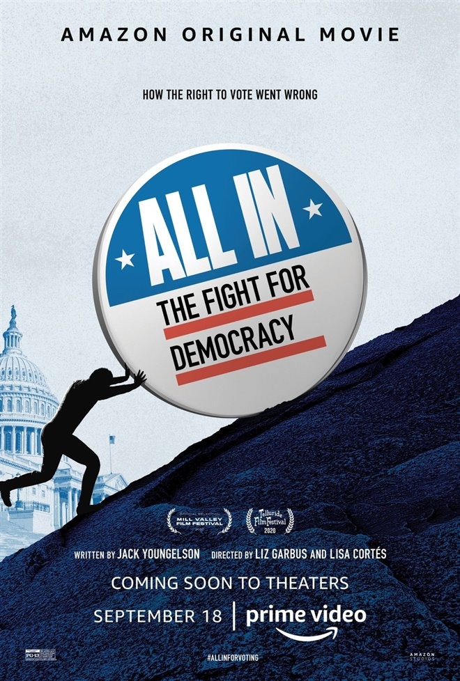 All In: The Fight for Democracy (Amazon Prime Video) Large Poster