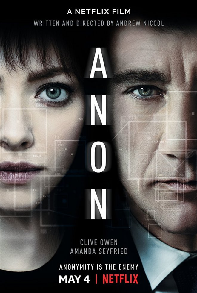 Anon (Netflix) Large Poster