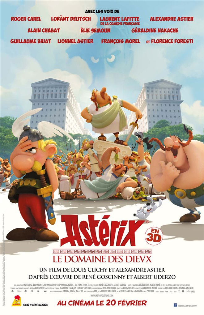 Astérix: The Mansions of the Gods Large Poster