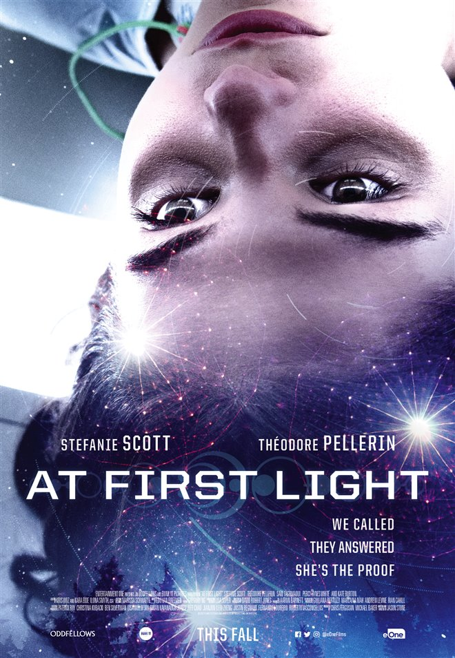 At First Light Large Poster