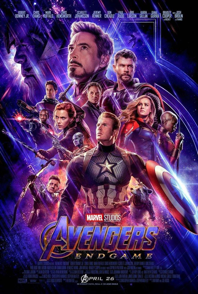 Avengers: Endgame Large Poster