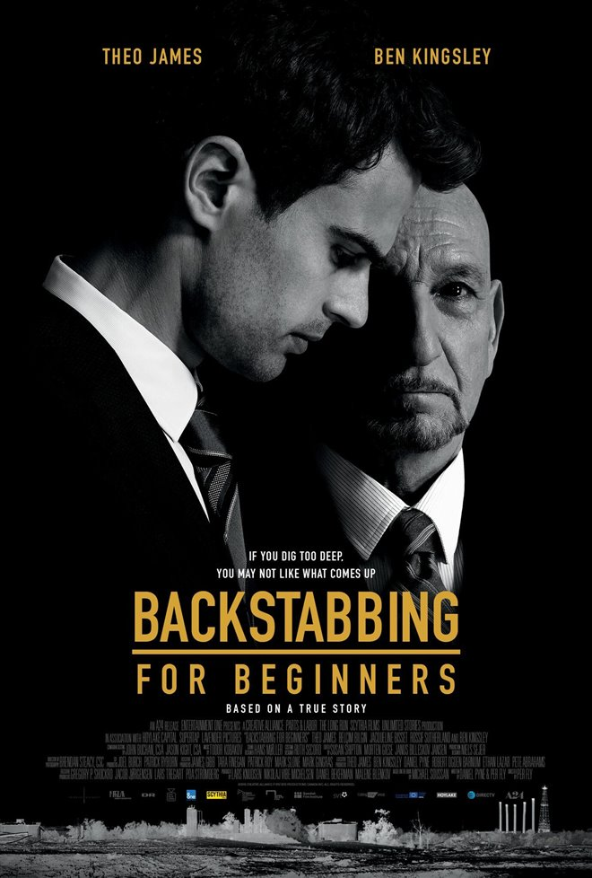 Backstabbing for Beginners Large Poster