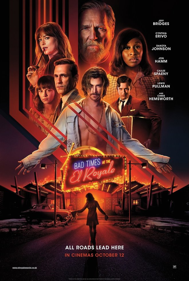 Bad Times at the El Royale Large Poster