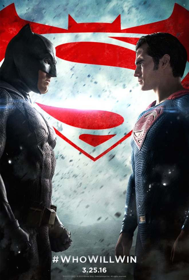 Batman v Superman: Dawn of Justice Large Poster