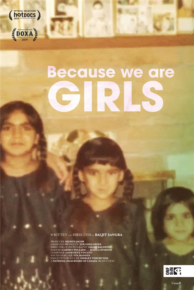 Because We Are Girls Large Poster