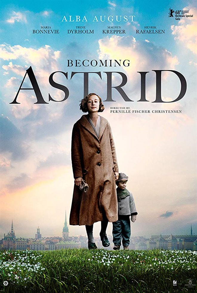 Becoming Astrid (Unga Astrid) Large Poster