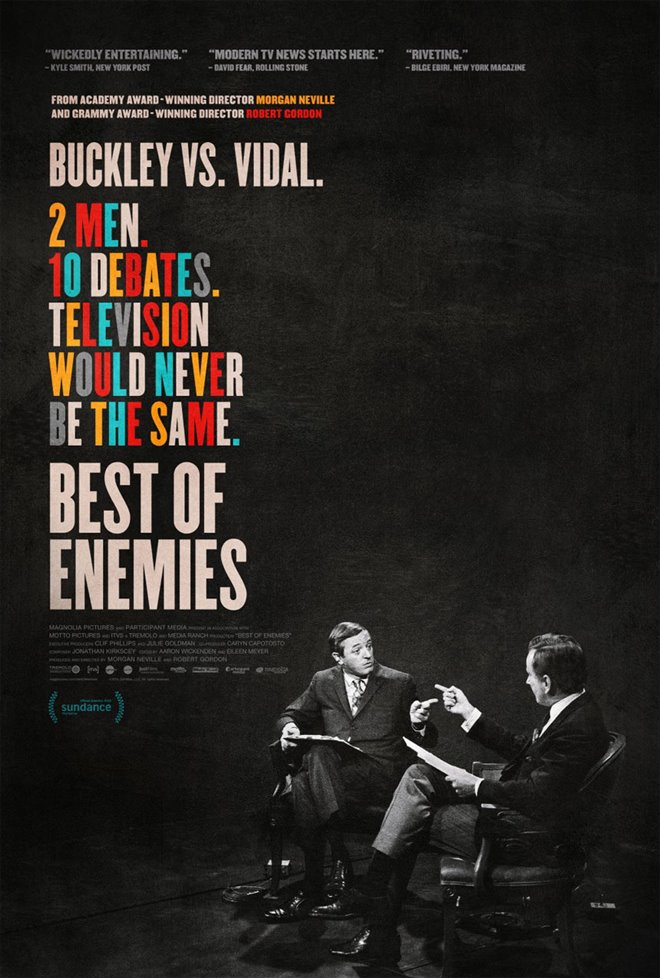 Best of Enemies Large Poster