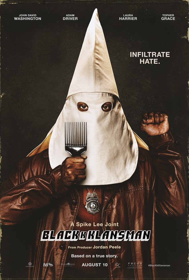 BlacKkKlansman Large Poster