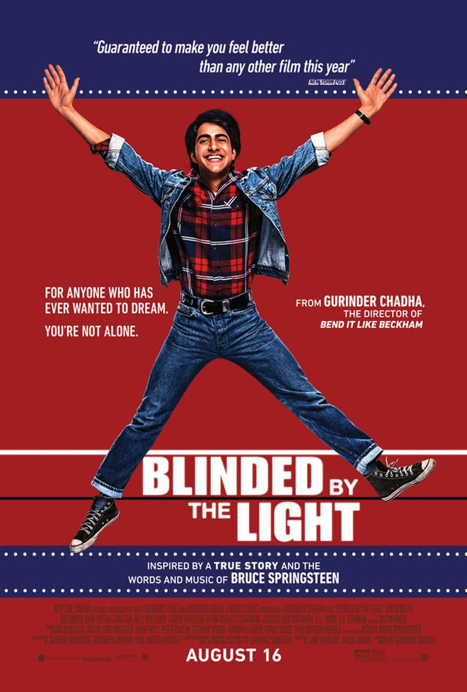 Blinded by the Light Large Poster