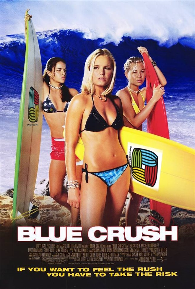 Blue Crush Large Poster