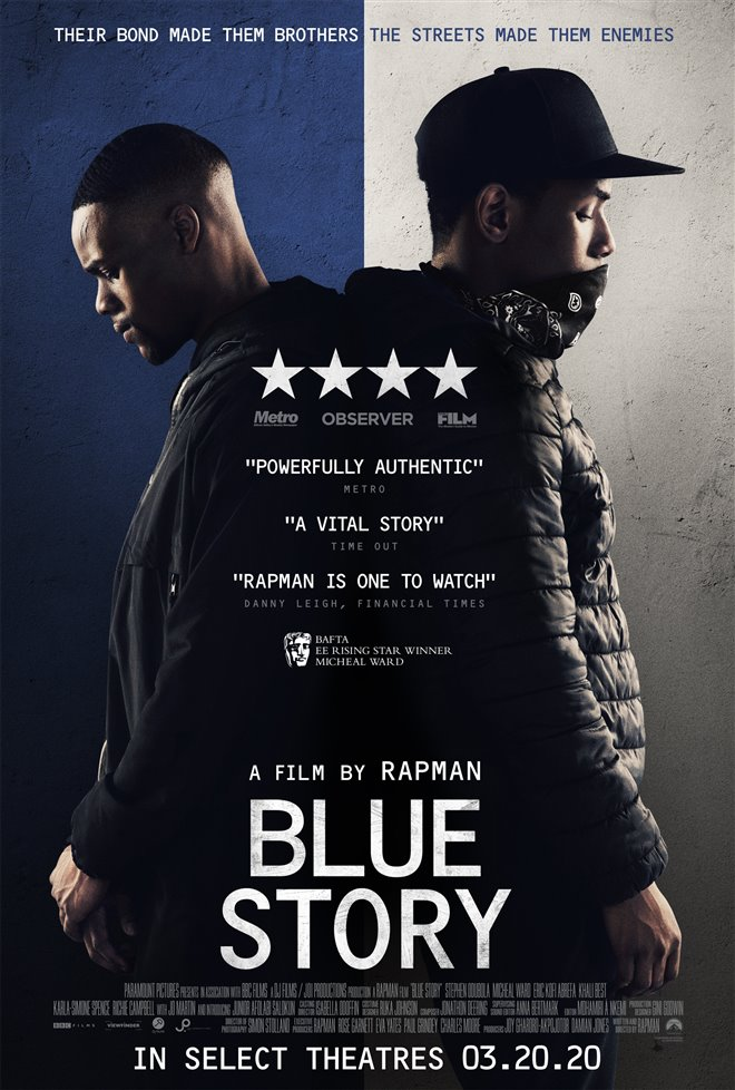 Blue Story Large Poster